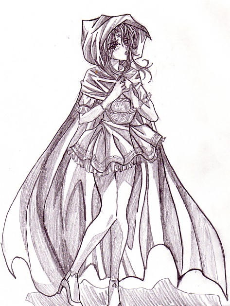 Little Red Riding Hood by vampiresselena