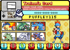 My Trainer Card by puffley115