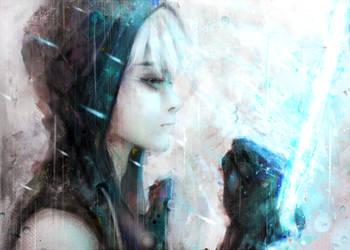 Wraith Blade by AkuArtist