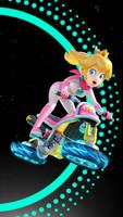 Racing Princess Peach FUTURE Wallpaper