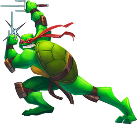 Back to the Sewer Raphael Render
