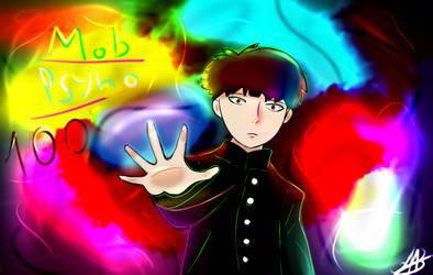 Mob Psyho 100 by VsilyokArt
