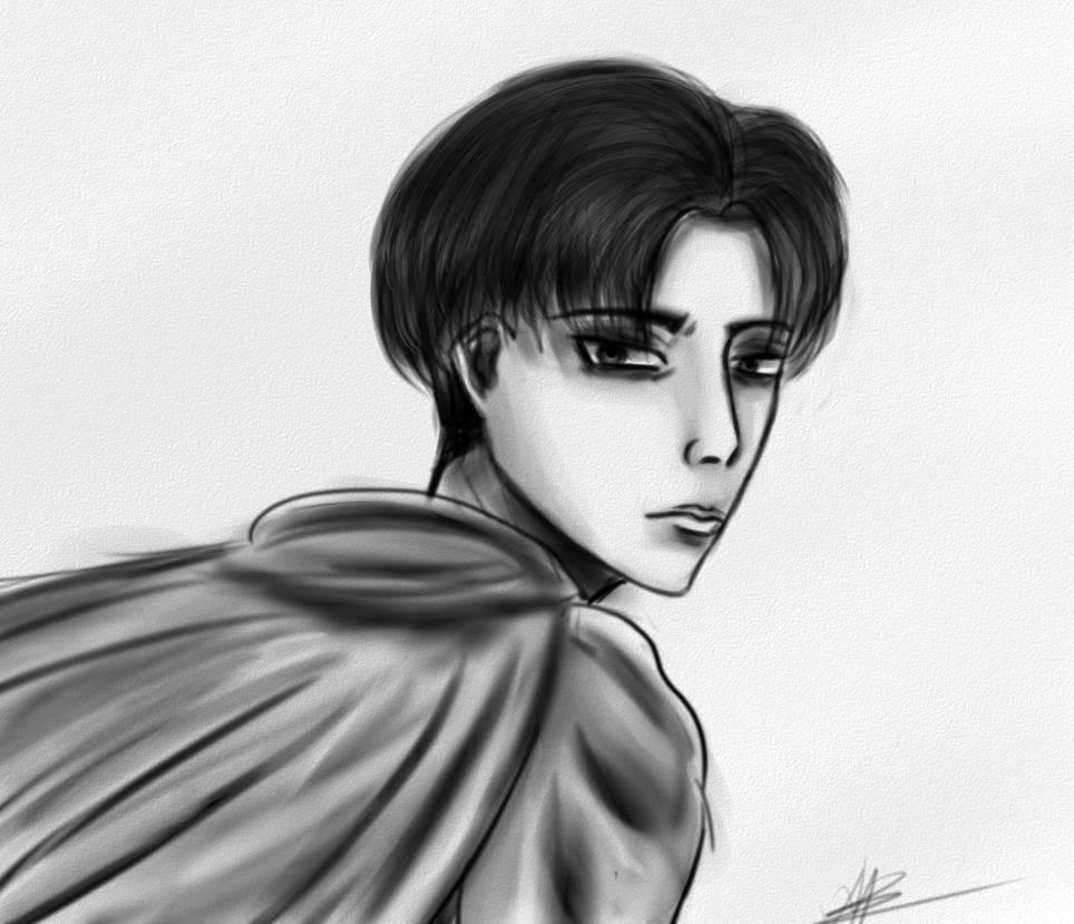 Levi sketch by VsilyokArt