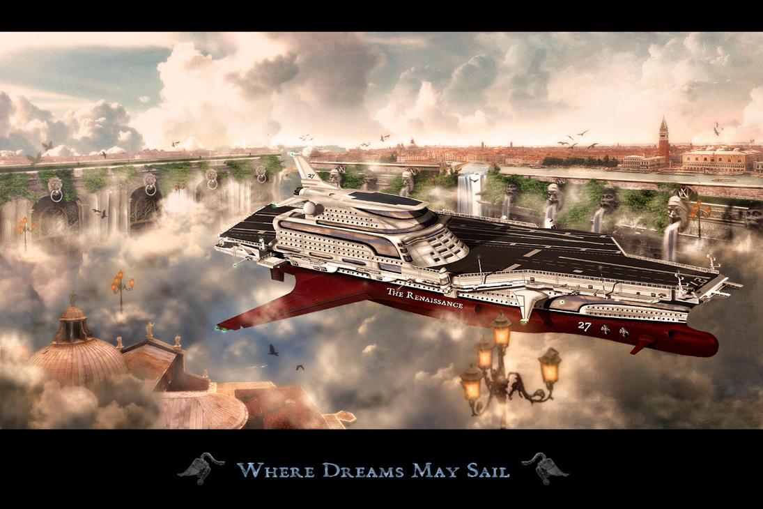 Where Dreams May Sail by bkreative