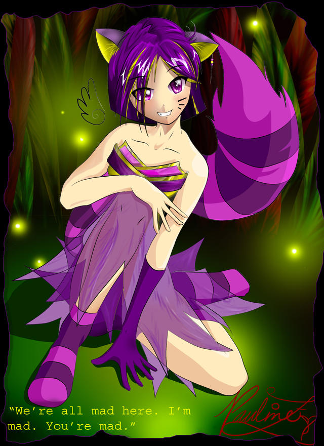 What Would The Cheshire Cat Look Like As A Human