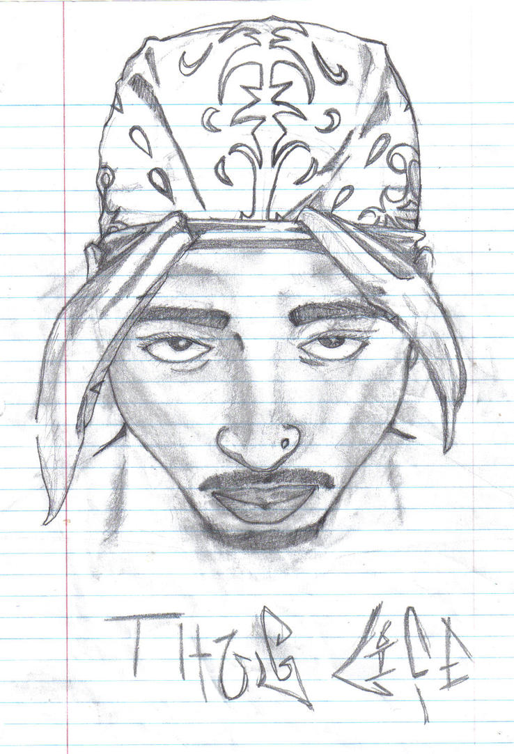 Thug Life Drawing Thug Life by Majestic1