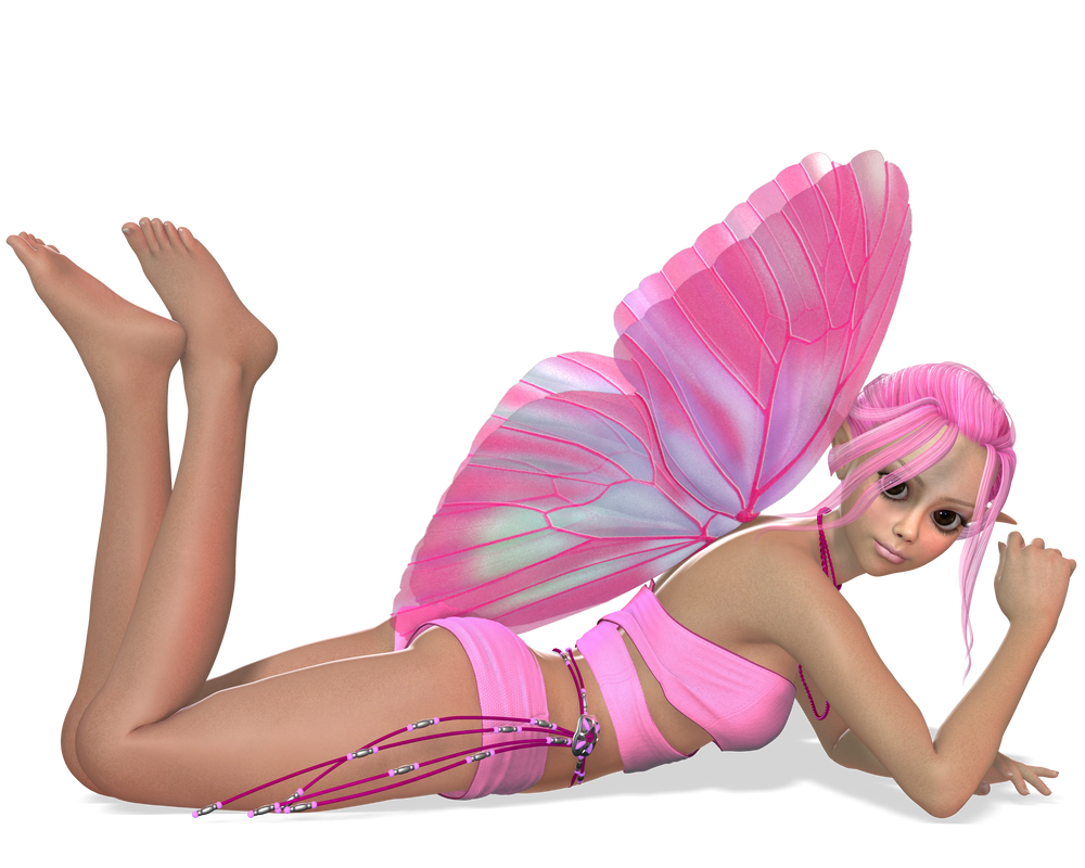 Pink Faeries Preview 1 by joannastar-stock