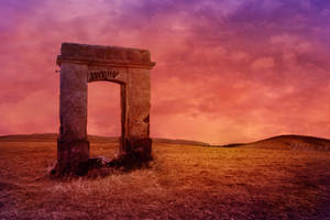 The Arch to Nowhere Background
