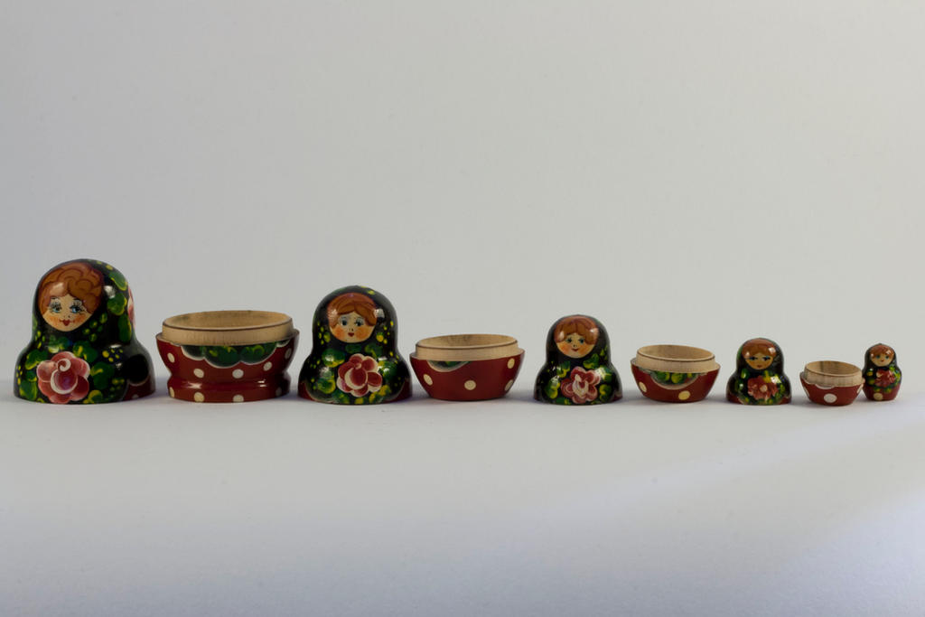 Russian Dolls 5 by joannastar-stock