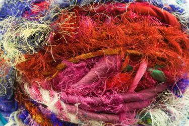 Sari Yarn Texture 1