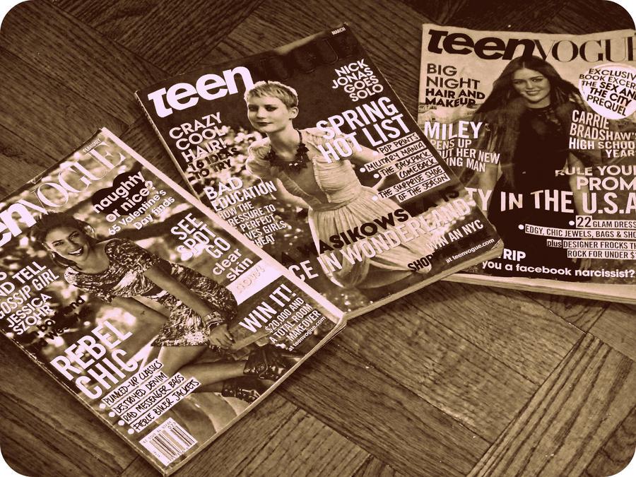 Teen Vogue by xxxAngelGirlxxx