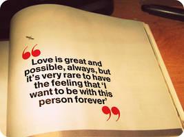 Love Quote by xxxAngelGirlxxx