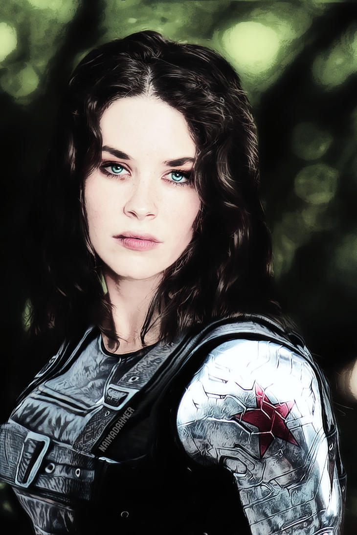 THE WINTER SOLDIER  Jamie 'Becky' Barnes by DahmerNaima