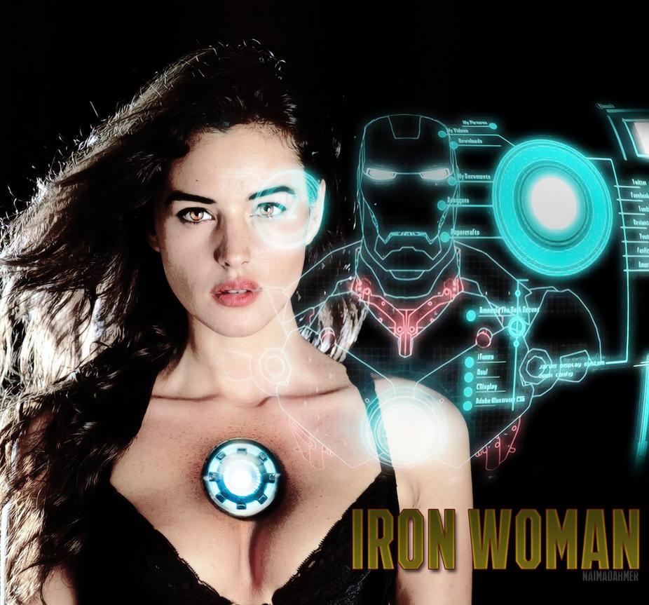 IRON WOMAN / Natasha 'Tasha' Stark by DahmerNaima