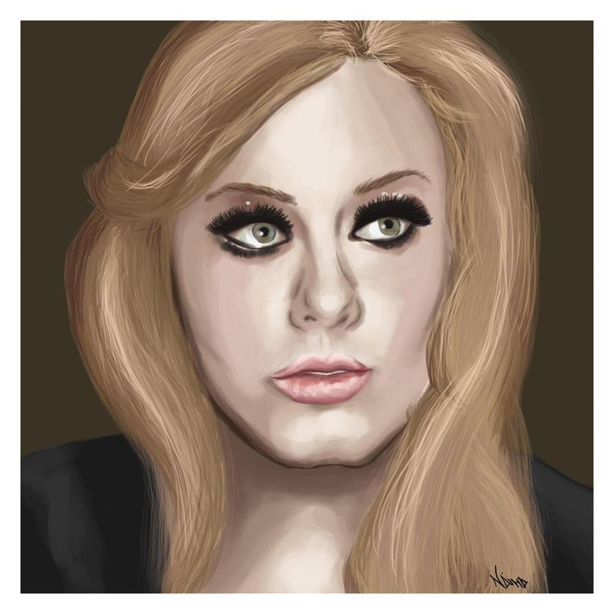 Adele by DahmerNaima