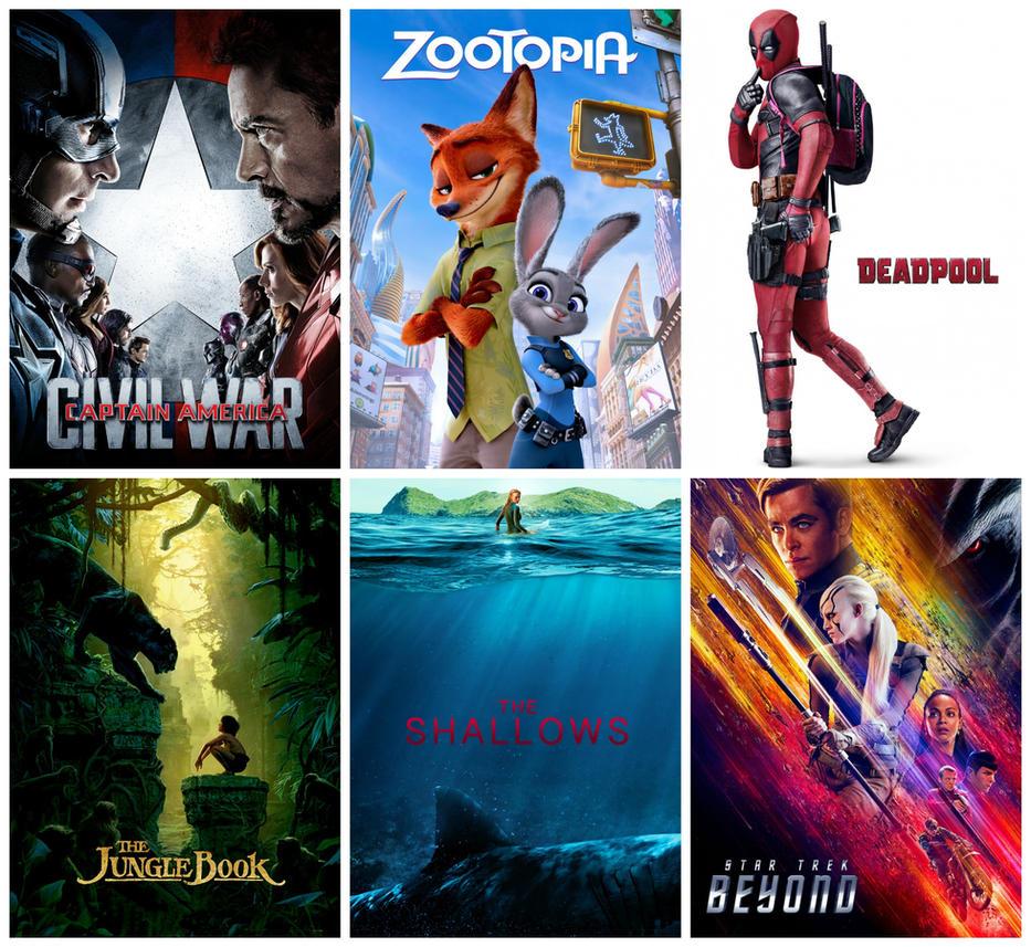 Favorite Movies of 2016 So Far by KateHasBoobs