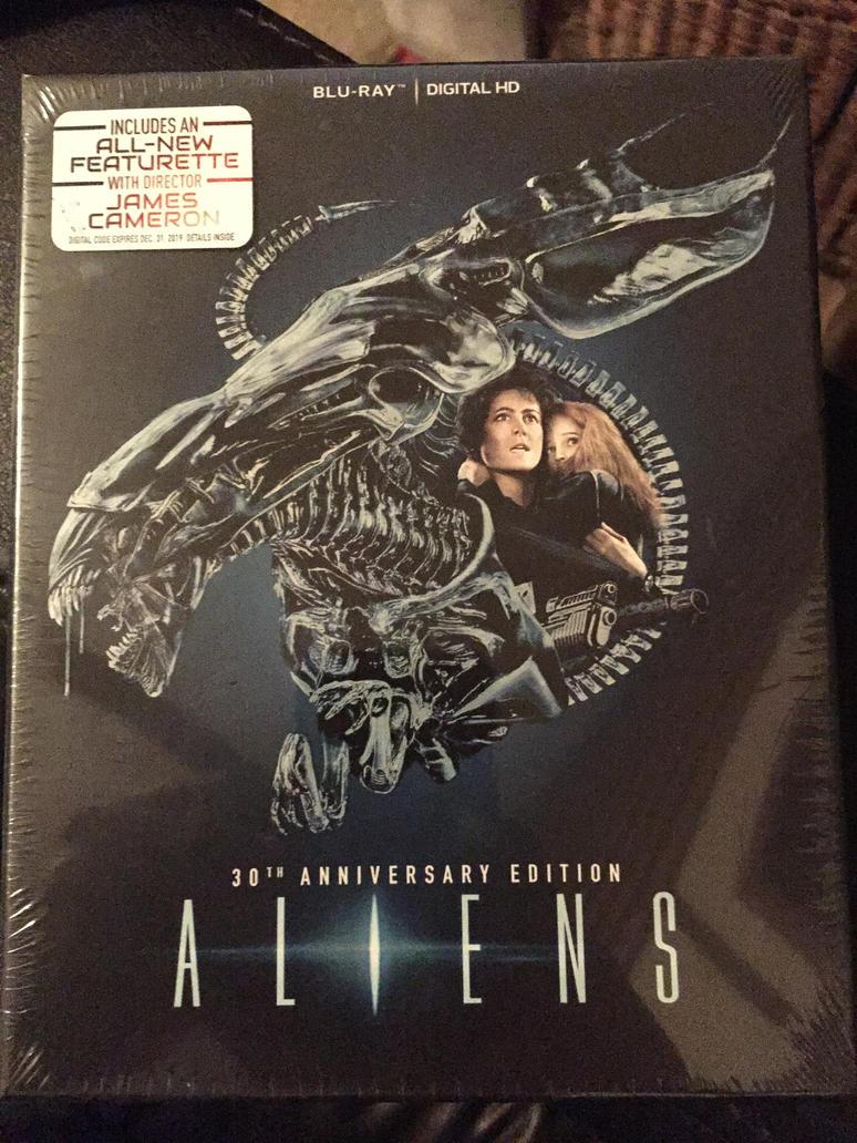 Aliens 30th Anniversary Blu-Ray by KateHasBoobs