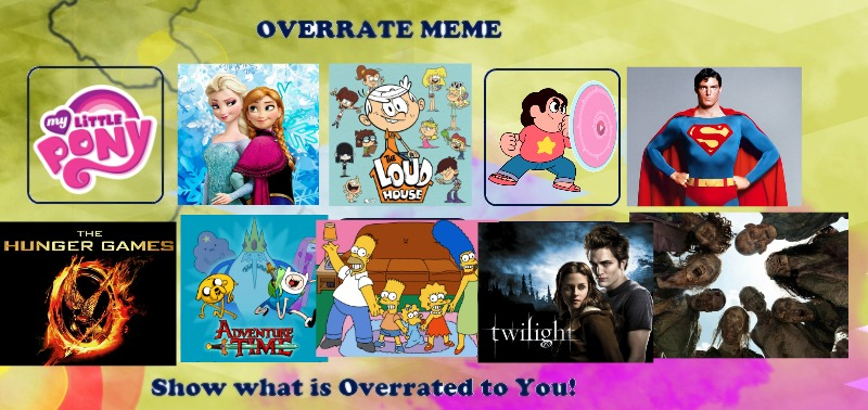 Top 10 Most Overrated ANYTHING by KateHasBoobs