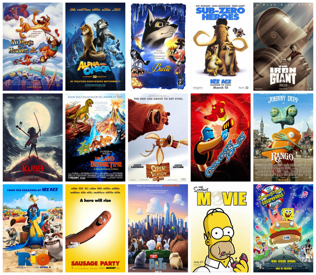 203 Best Images About Disney Pixar Dreamworks On: My Top 15 Non-Disney/Dreamworks Animated Movies By