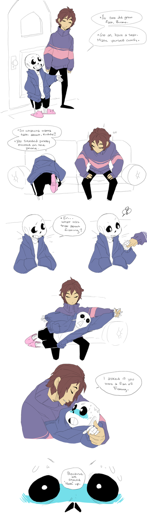 Fishing undertale by adzze on deviantart for Fish pick up lines