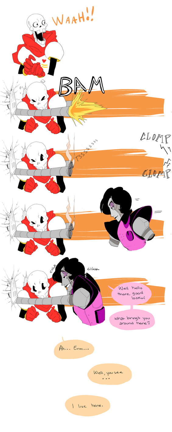 Papy Darling - Undertale by Adzze