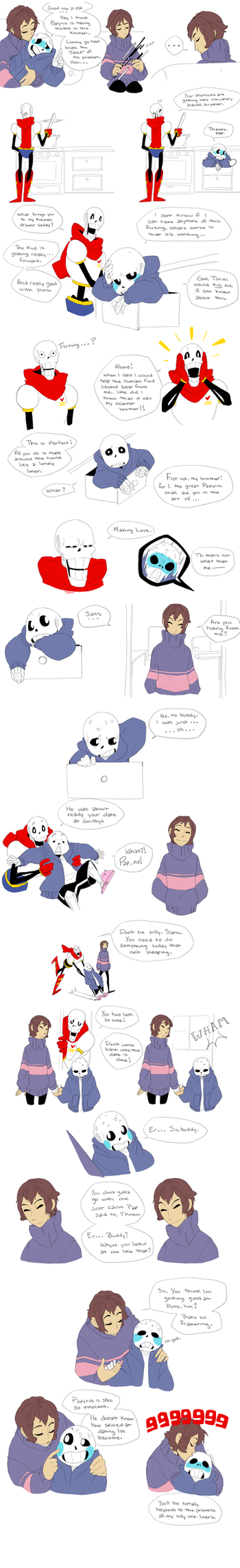 Dating - Undertale by Adzze