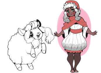 Human wooloo design by Adzze