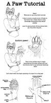 Anthro paws hands tutorial