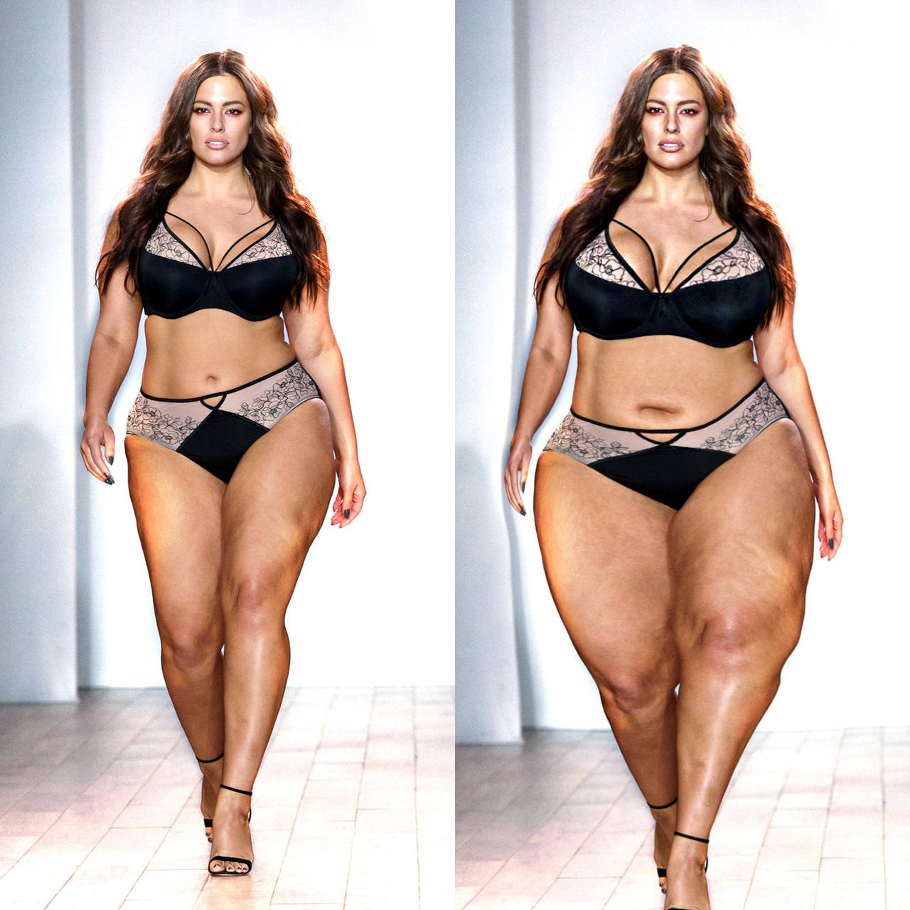 ashley graham weight