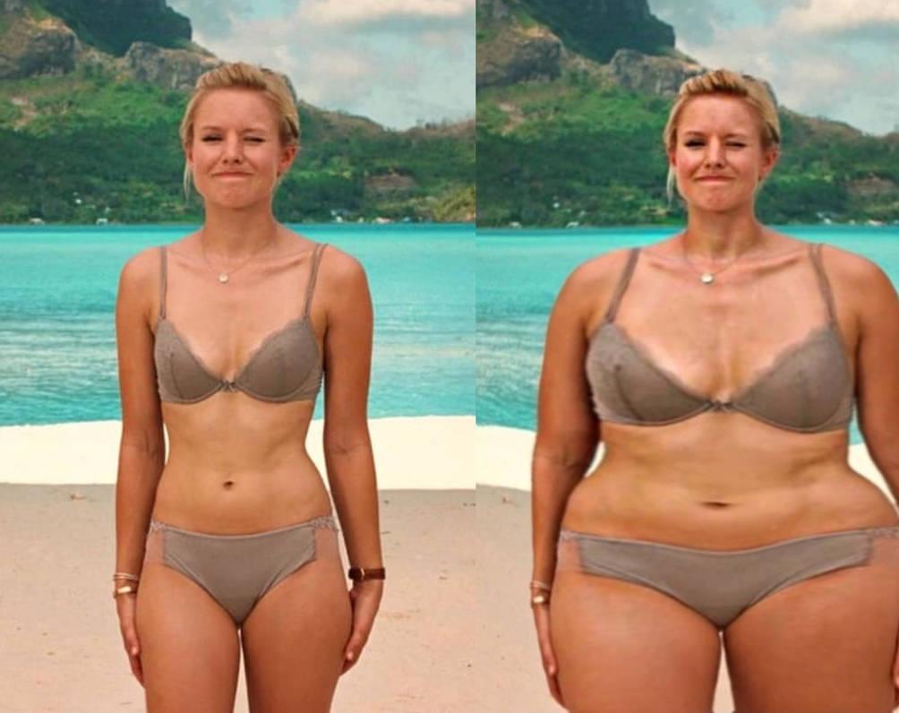 Kristen Bell Weight Gain