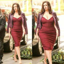 Anne Hathaway weight gain  by 17basil