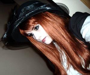 Red Hair Lolita III by mori-stock