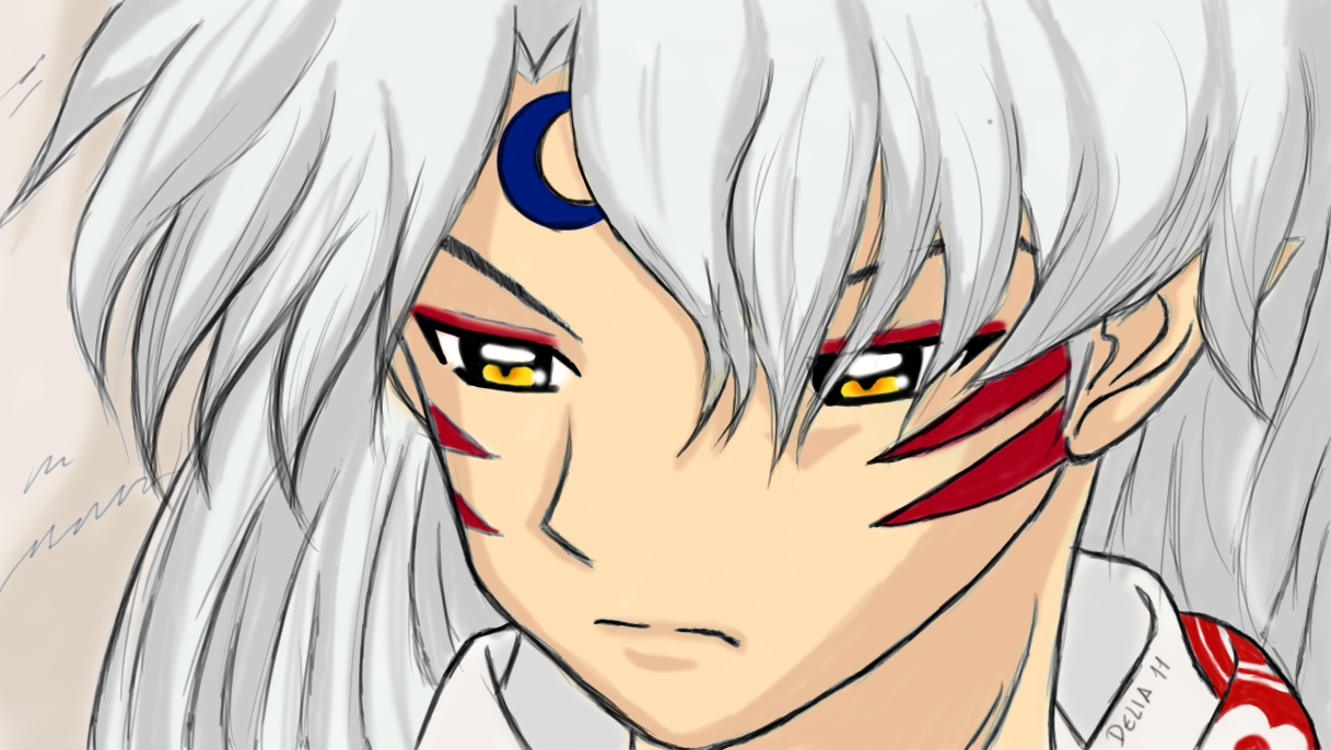 sesshomaru wallpaper by deliainthesky on deviantart