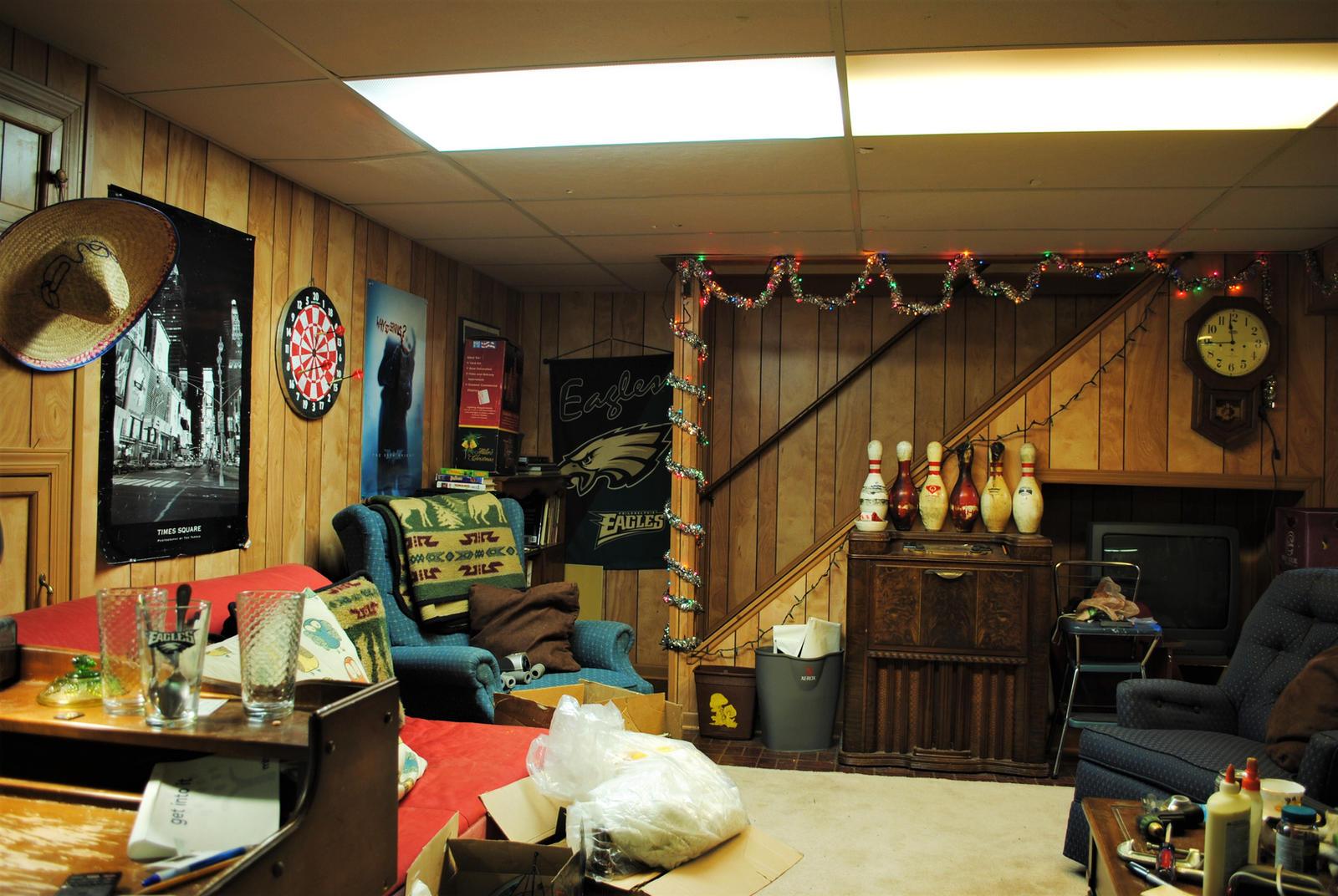 1980's Basement Rec Room by BardaWolf on DeviantArt
