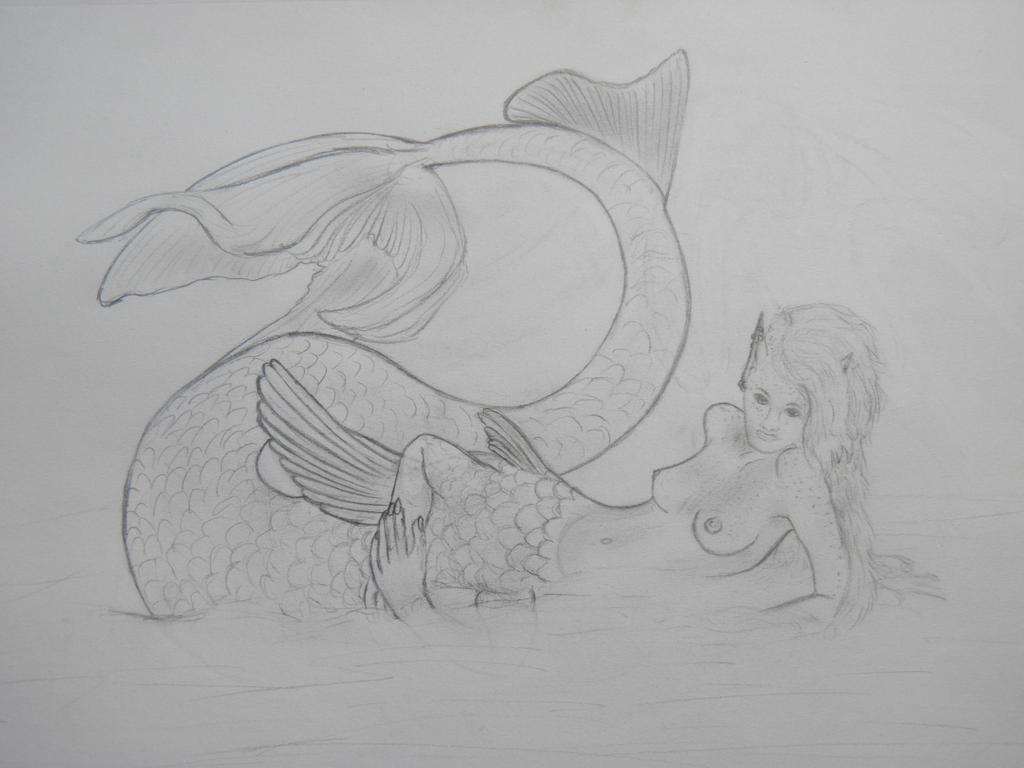 KrystalDragonWolf Ichthyocentaur by NepinRith
