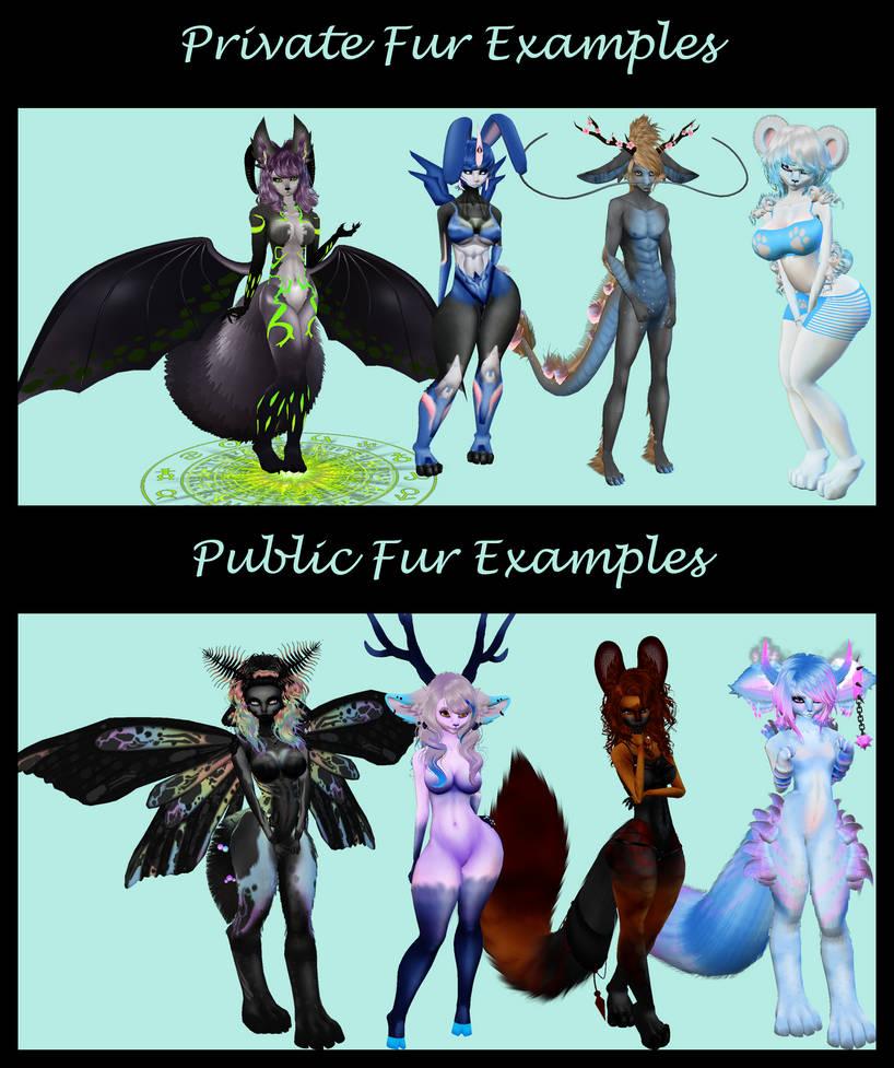 Fur Examples by NepinRith