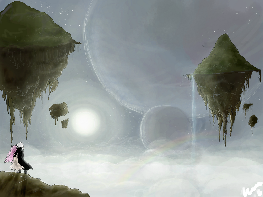 Realm of the Riftwalkers, Gravity Mountains by IamtehPILOT