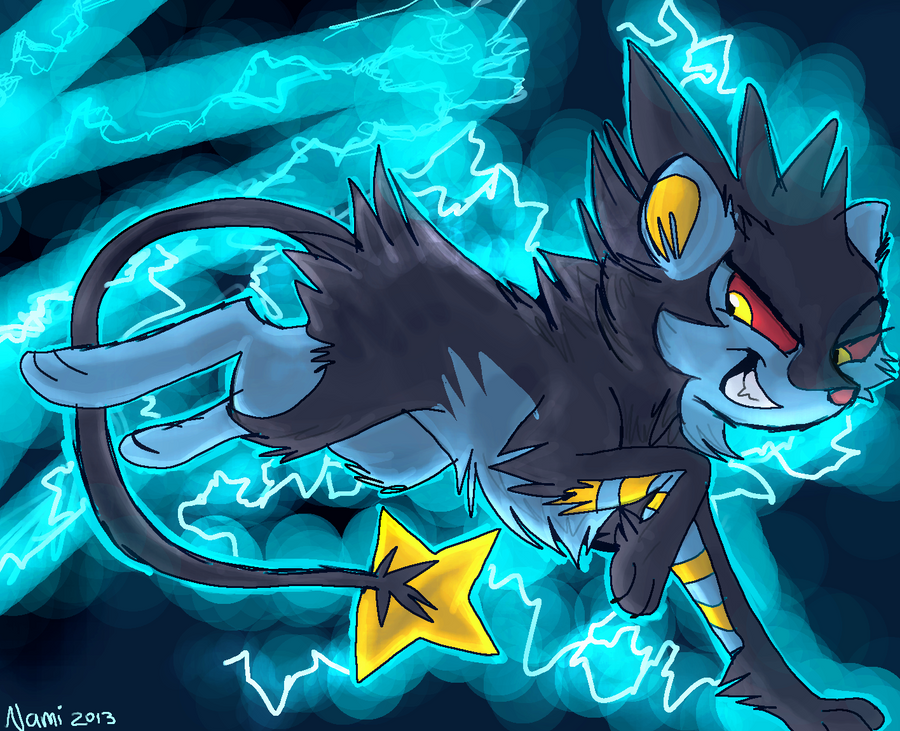 Shinx Luxio Luxray Wallpaper