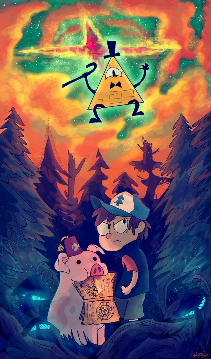 Gravity Falls by namiwami