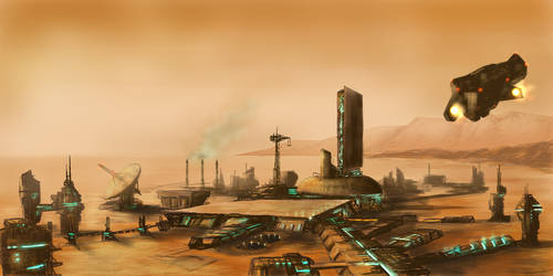 Welcome to Mars by PeteAshford