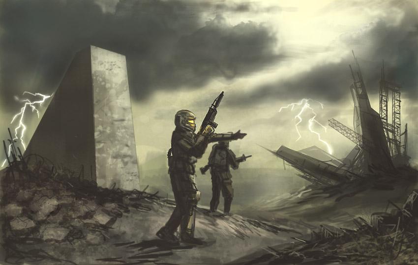 Wasteland Scouts by derbz