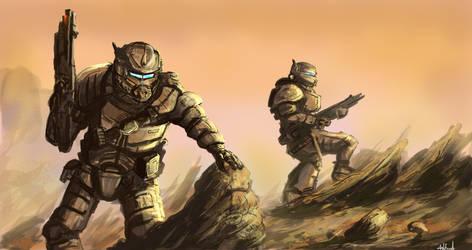 Martian Ranger (2) by PeteAshford