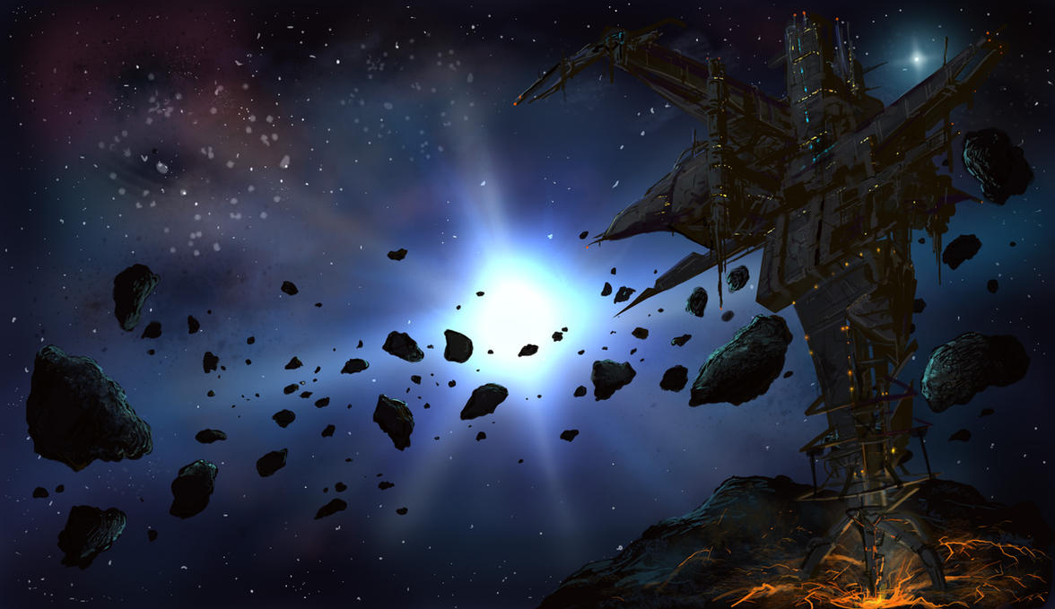 Asteroid fracking by derbz