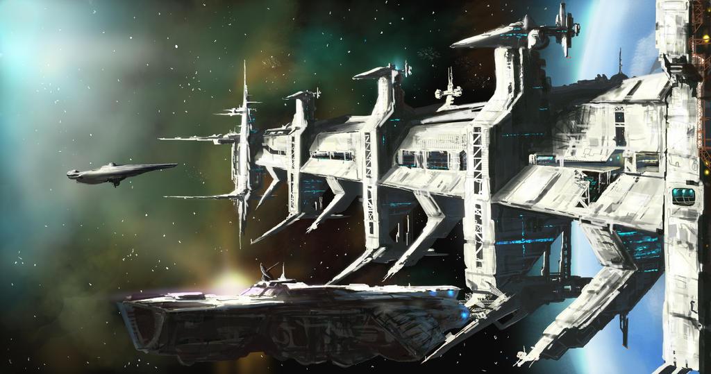 Orbital Docks by derbz