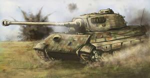 Last Dance, King Tiger - Battle of Halbe 1945