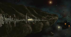 Asteroid Docks by derbz