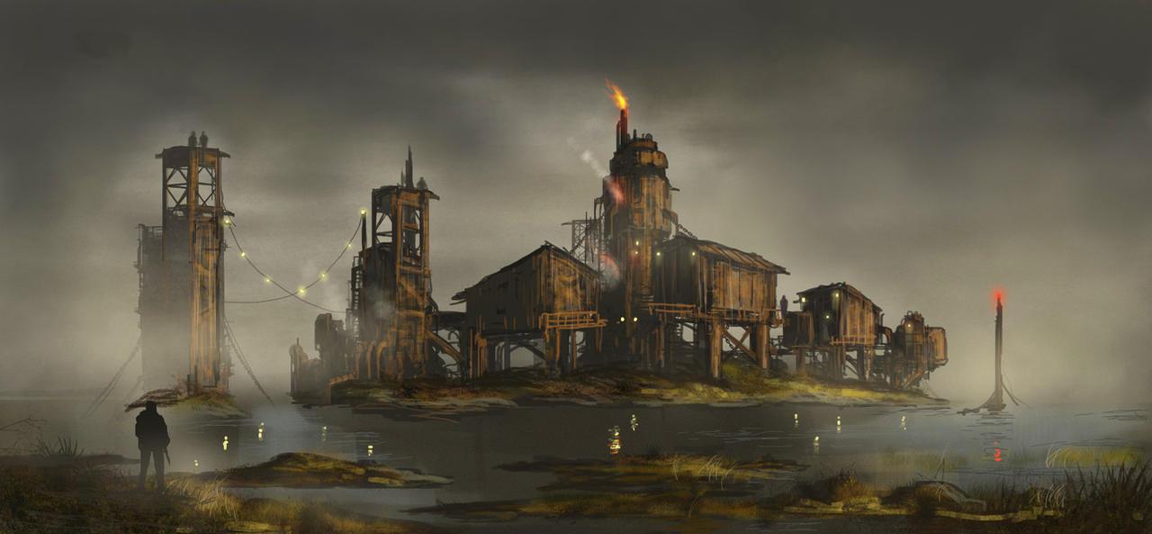 Swamp hideout by derbz