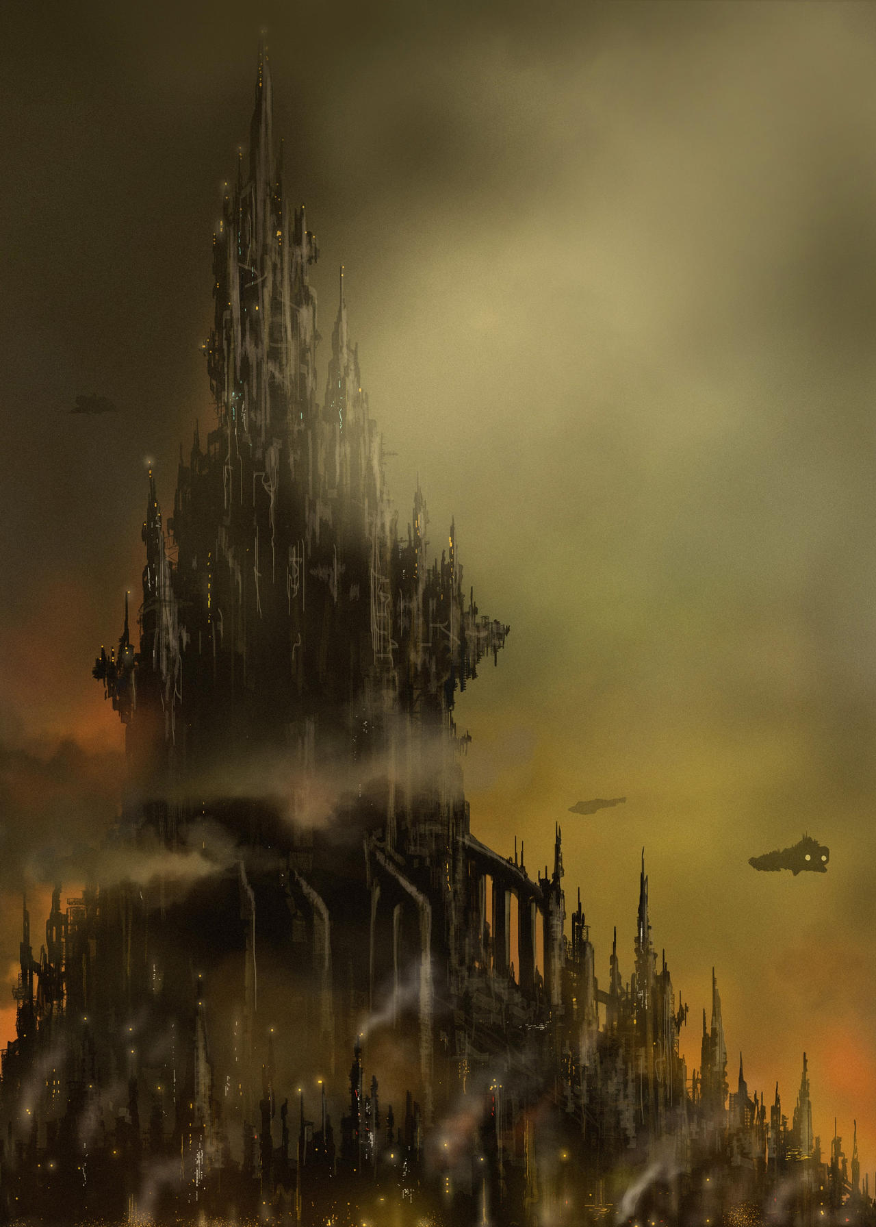 Hive City Spires ( W40K)