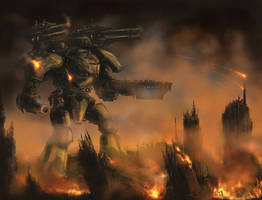 Titan Assault (WH40K) by derbz