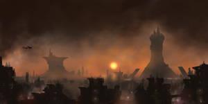Urban Jungle - Blade Runner by derbz